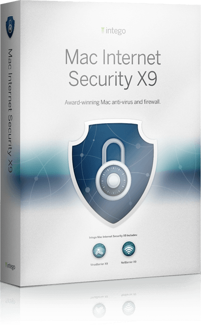 Mac Internet Security X9 sale box